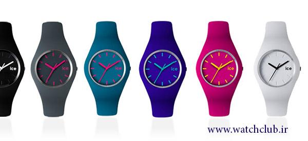 ساعت مچی زنانه رنگی