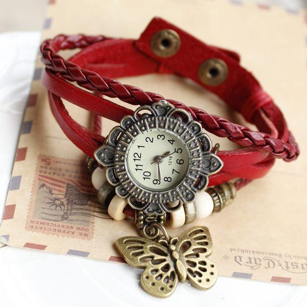 خرید ساعت مچی رنگ قرمز
