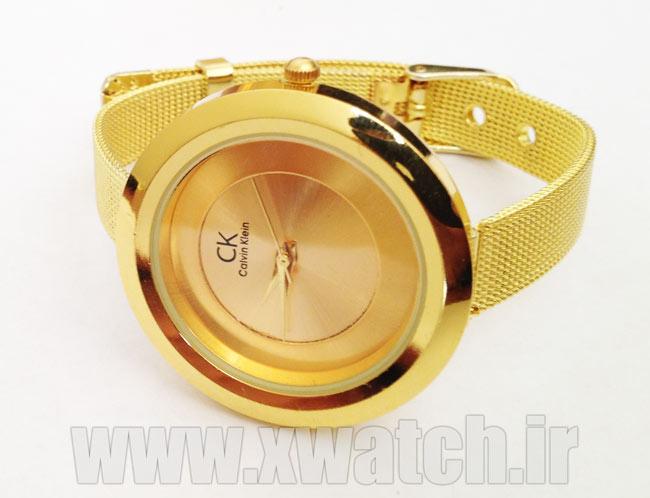 خرید ساعت مچی ck طلایی